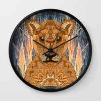 mother Wall Clocks featuring Mother by ArtLovePassion