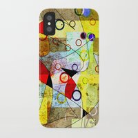 kandinsky iPhone & iPod Cases featuring Without incident by Kay Weber