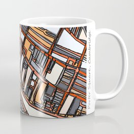 Abstract Map - Porter Square Somerville Coffee Mug