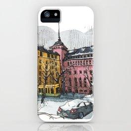 Helsinki Methodist Church iPhone Case