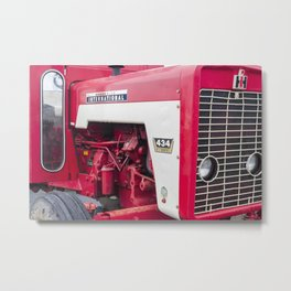 Restored International 434 Tractor Metal Print