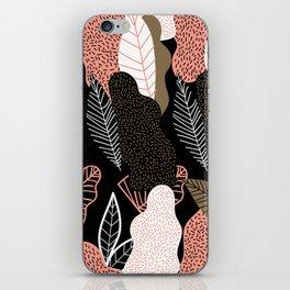 Naive Black iPhone Skin