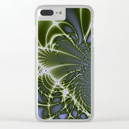 Fractal Abstract 68 Clear iPhone Case
