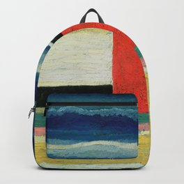 Kazimir Malevich - Red House Backpack