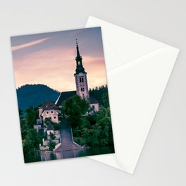 Lake Bled, Slovenia 3 Stationery Cards