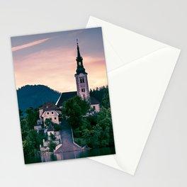Lake Bled, Slovenia 3 Stationery Cards