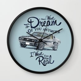 Mustang dream Wall Clock