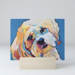 Maltipoo, Cavapoo, Cavachon, Cockerpoo, Mix Breed Custom Pop Art Pet Portrait Mini Art Print