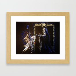 Come to me: Angel of Music Framed Art Print