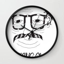 Lurking Class Wall Clock