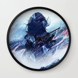 Magma Girl Wall Clock