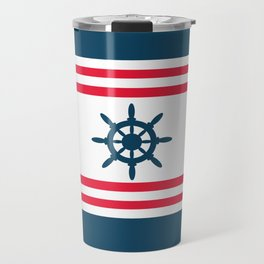 Sailing wheel Travel Mug