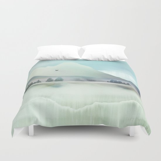 Winter Hunt Duvet Cover