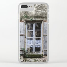 Old Window Clear iPhone Case