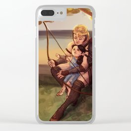 Diana and Antiope Clear iPhone Case