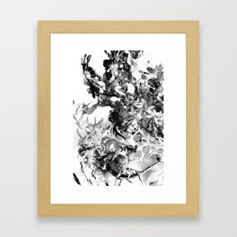 floating roots ed. 2 Framed Art Print