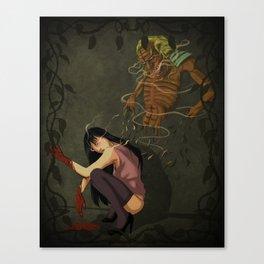 Demonization Canvas Print