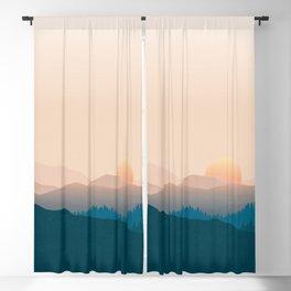 Forest Landscape Blackout Curtain