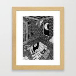 Paper Moon Framed Art Print