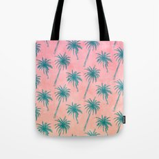 Palm Tree Pattern Tote Bag