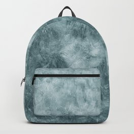 Blue thistle Backpack