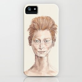 Tilda Swinton Inspiration iPhone Case