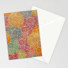 Flower Pattern 2 Stationery Cards