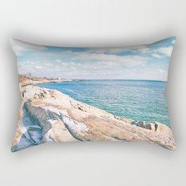 Narragansett Rocks Rectangular Pillow