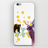 wildlife iPhone & iPod Skins featuring wildlife by the coulsons