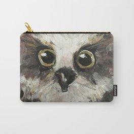 Nursery Art / Nursery Decor - Baby Owl Carry-All Pouch