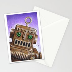 i.Friend: Steam Punk Robot Stationery Cards