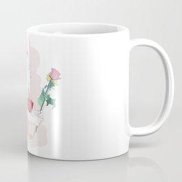 Little girl loves flowers Coffee Mug