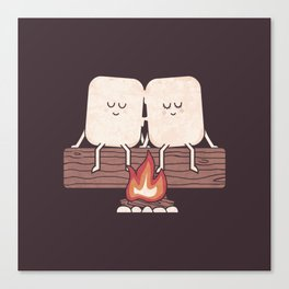 I Melt With You Canvas Print