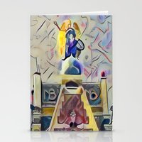 kandinsky Stationery Cards featuring Angel over Amsterdam by Detailicious