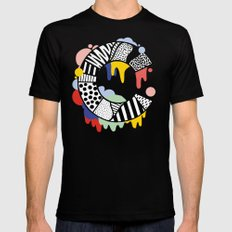 C for …. MEDIUM Mens Fitted Tee Black