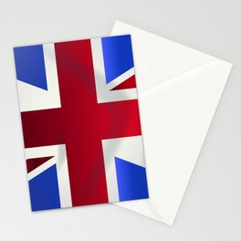 Union Jack Flag Stationery Cards