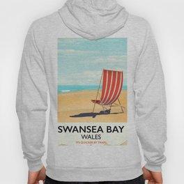 Swansea Bay Wales Seaside poster Hoody