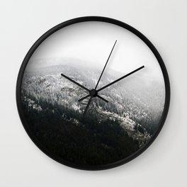 Swiss Alps - v1 Wall Clock
