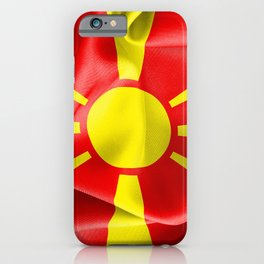 Macedonia Flag iPhone Case