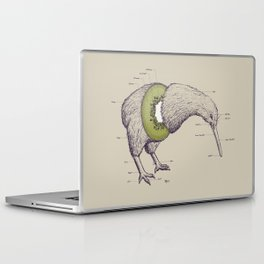 Kiwi Anatomy Laptop & iPad Skin