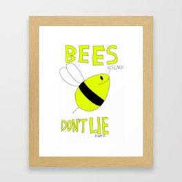 Bees Don't Lie - Jupiter Ascending Framed Art Print