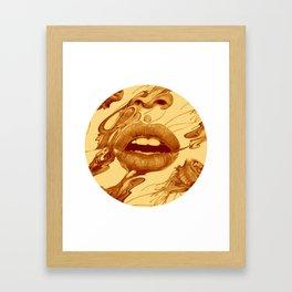 Sepia Framed Art Print