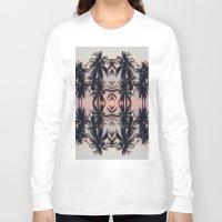 palm tree Long Sleeve T-shirts featuring palm tree by Maria Fernanda Furtado