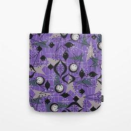 Mid Century Atomic Arrow Patterns Tote Bag