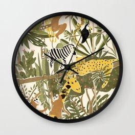 Th Jungle Life Wall Clock