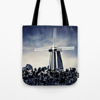 regina mills Tote Bags featuring The Mills by Vibrancyphotos