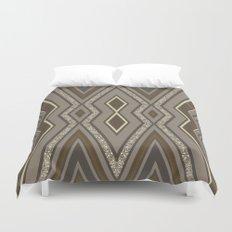 Geometric Rustic Glamour Duvet Cover