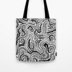 Gray Painting Tote Bag