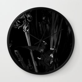 Lost in the Dark Wall Clock