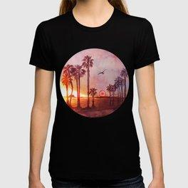 Sunset in Santa Monica T-shirt